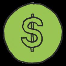 Pinigai-ikona